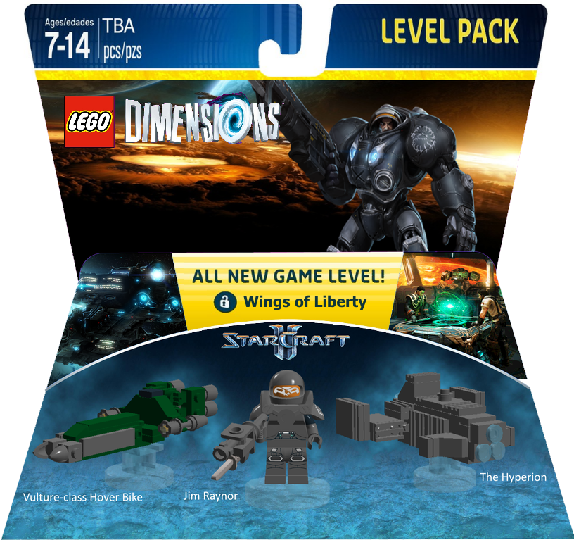 Lego Starcraft Ii Level Pack Concept Legodimensions