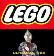 LEGO Ultraman Tiga ( American Version )