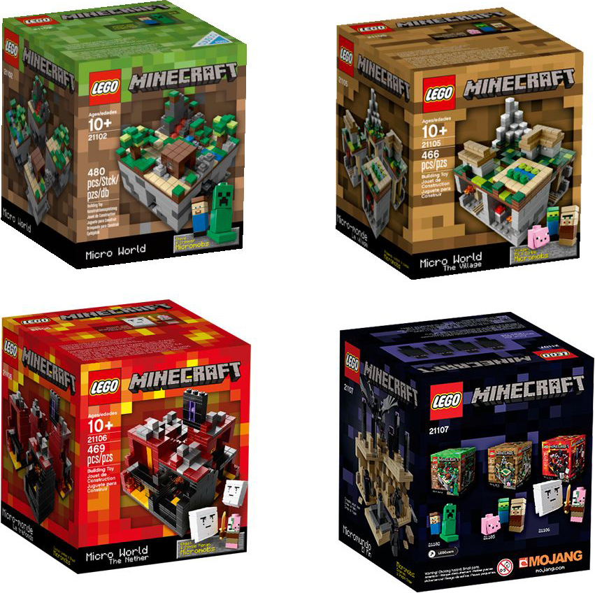 Build Your Own Minecraft Legos