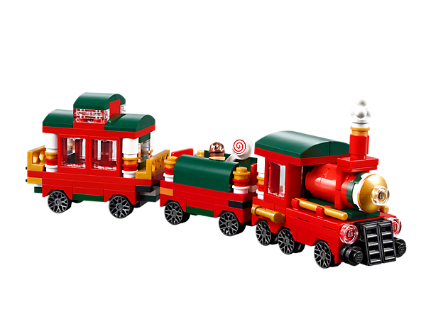 40138 le train de no l wiki lego fandom powered by wikia. Black Bedroom Furniture Sets. Home Design Ideas