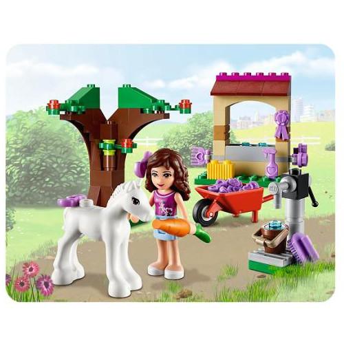 LEGO 41003 Olivia Et Son Bébé Poulain pas cher
