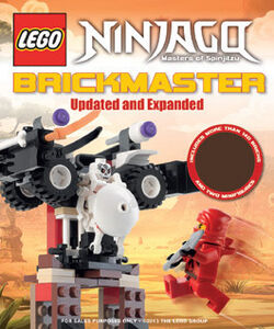 LEGO Ninjago Brickmaster Updated and Expanded cover