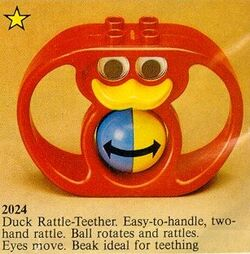 2024 Duck Rattle-Teether