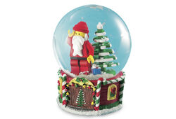 4287988 Santa Minifigure Snow Globe