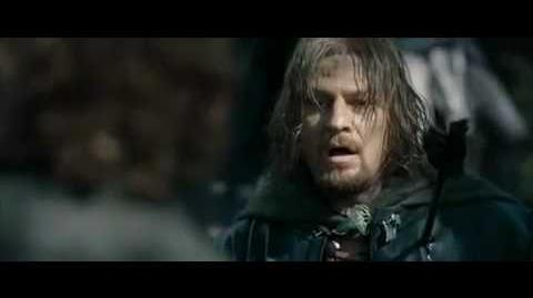 The Death of Boromir and Lurtz