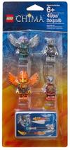 850913 Ensemble d'accessoires et de figurines Feu et Glace