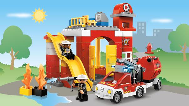 6168 la caserne des pompiers wiki lego fandom powered. Black Bedroom Furniture Sets. Home Design Ideas