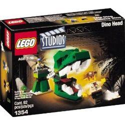1354 Dino Head Attack