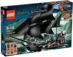 Black Pearl german toy shop box art