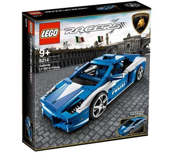BrickLink - Set 8214-1 : Lego Lamborghini Gallardo LP 560-4 ...