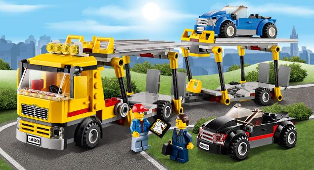 60060 le camion de transport des voitures wiki lego fandom powered by wikia. Black Bedroom Furniture Sets. Home Design Ideas
