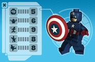 Captain america microsite