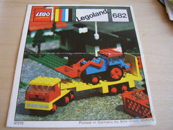 682-Low-Loader and Tractor