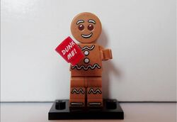 Ginger bread man with cup