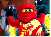 Yes ninjago kai serpent punch