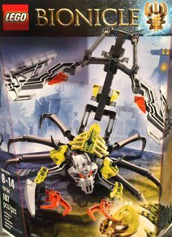 Skull Scorpio Box
