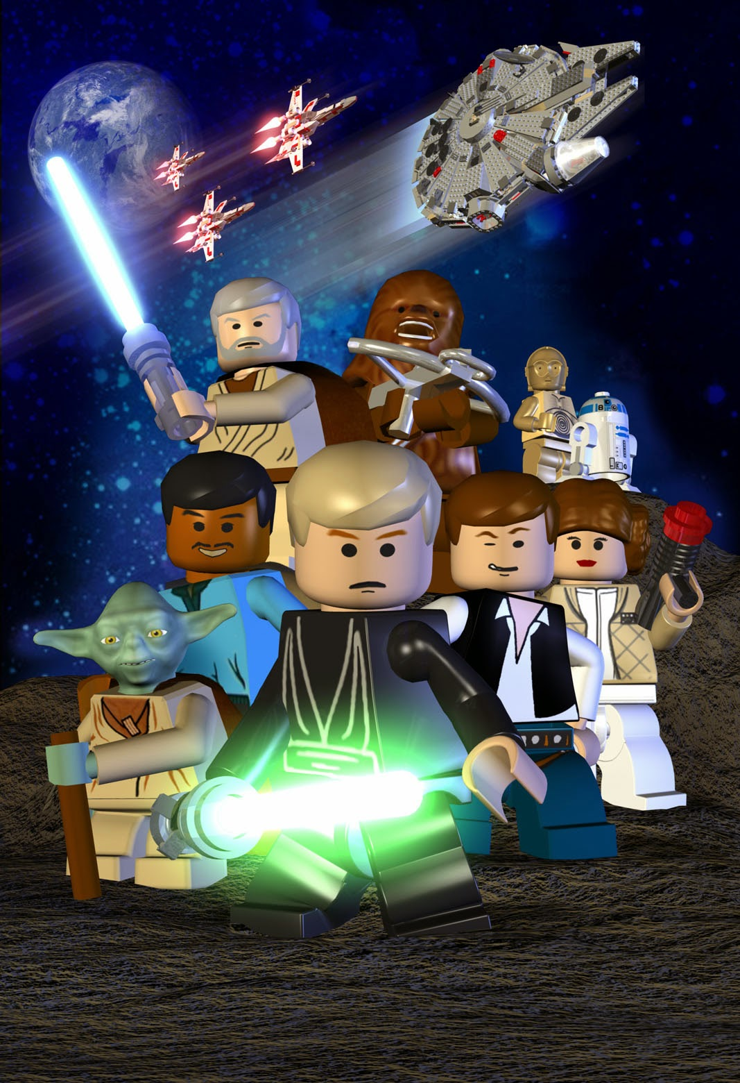 customlego star wars the video game redesigned