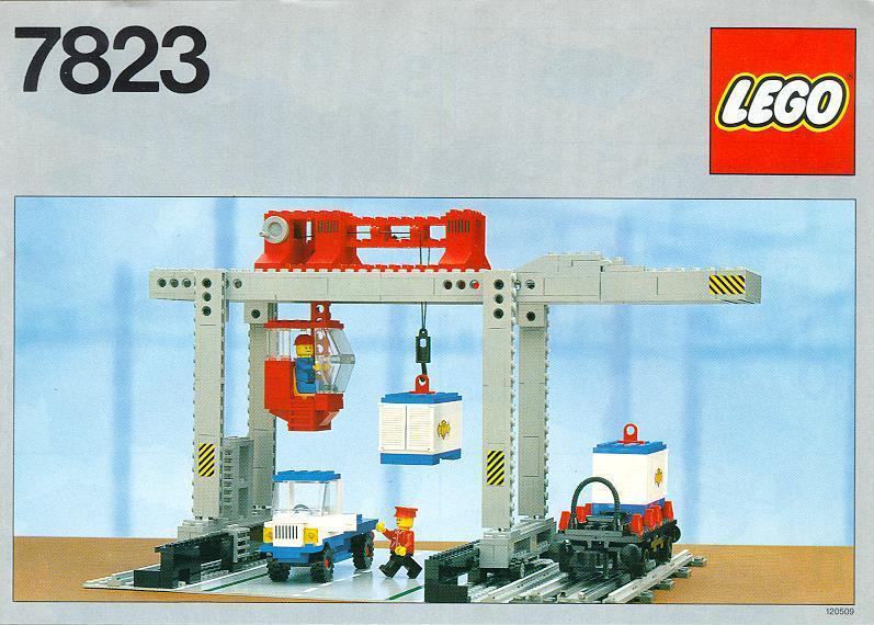 7823 Container Crane Depot Brickipedia Fandom Powered