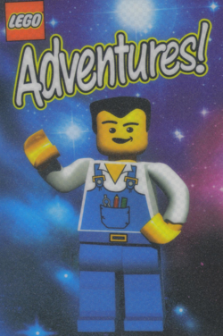 LEGO Adventures! Mouspad