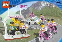 1199 Race Cyclists and Winning Team
