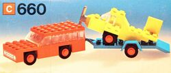 660-Car with Plane Transporter