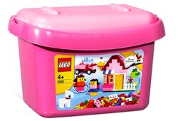 5585 Pink Brick Box