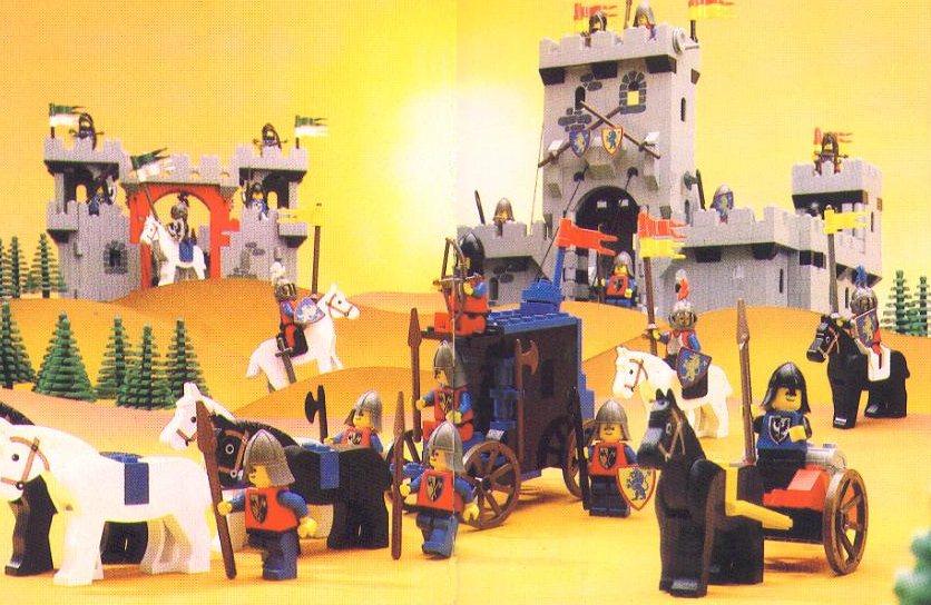 mega bloks my knights castle instructions