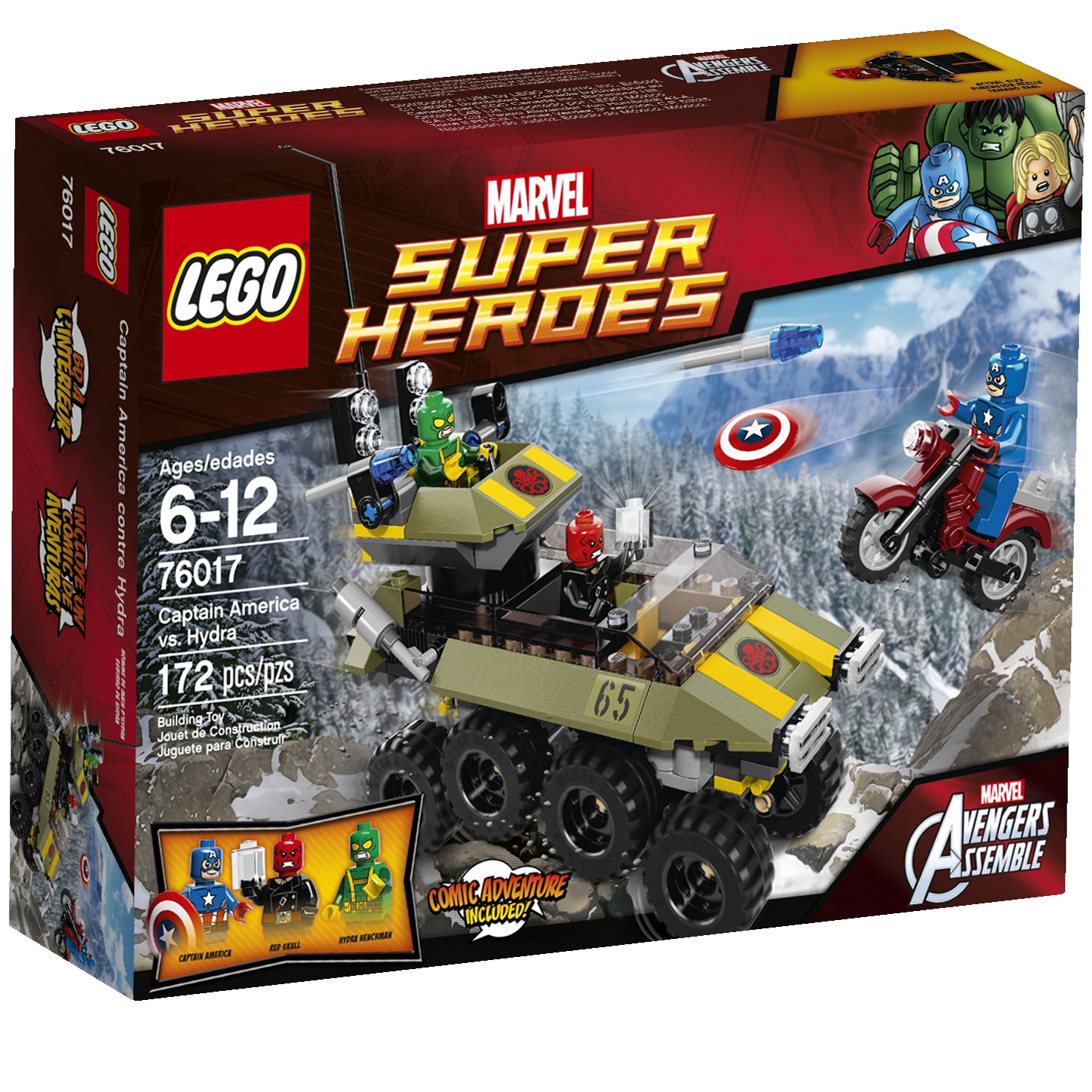 76017 captain america vs hydra brickipedia fandom powered by wikia - Lego capitaine america ...