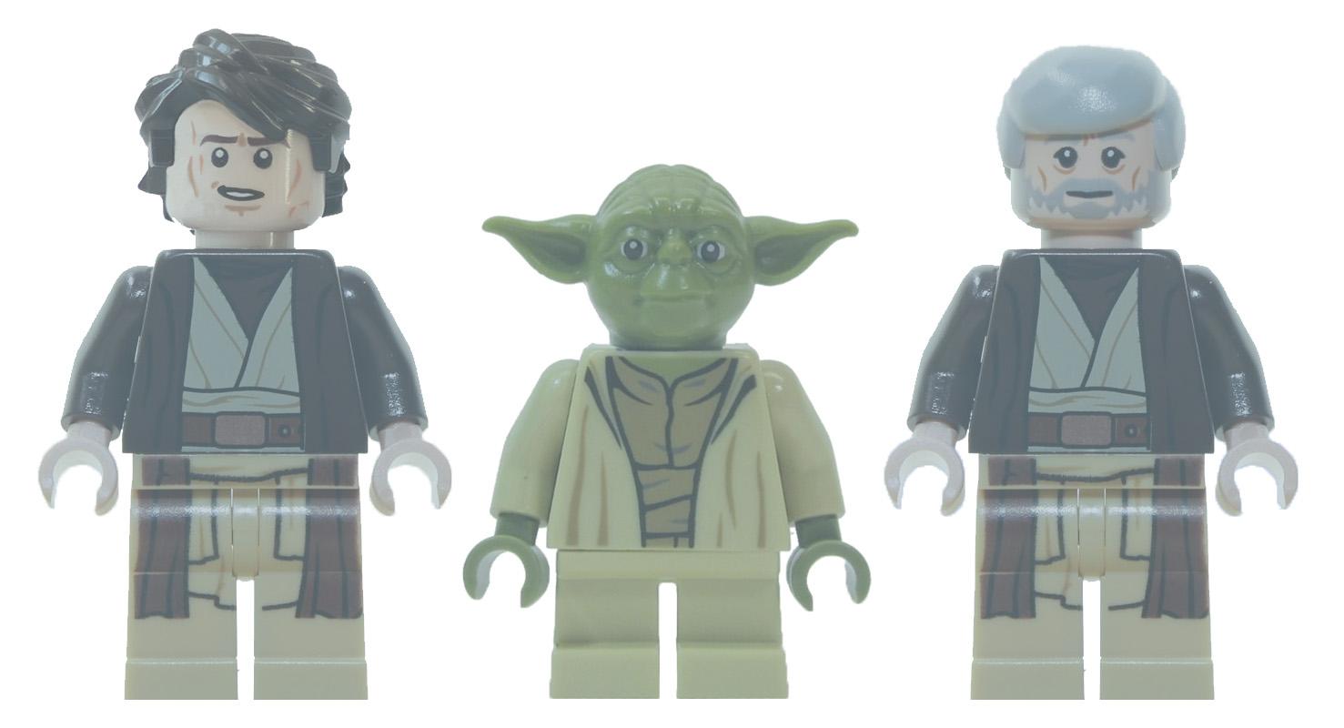 Custom anakin yoda and obi wan ghosts brickipedia - Lego star wars anakin ghost ...