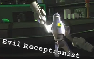 Evil Receptionist (Silver LexBot)