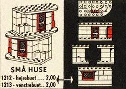 1212-Small House - Left Set