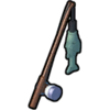 Icon mithril fishing rod nxg