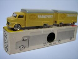 652 Covered Truck with Trailer