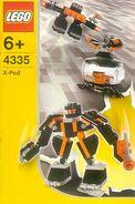 4335 Black Robot Pod
