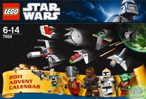 7958 le calendrier de l 39 avent star wars wiki lego - Star wars personnages lego ...