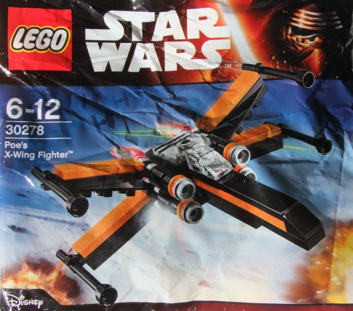 Poe S X Wing In Midi Scale: 30278 Poe's X-wing Fighter