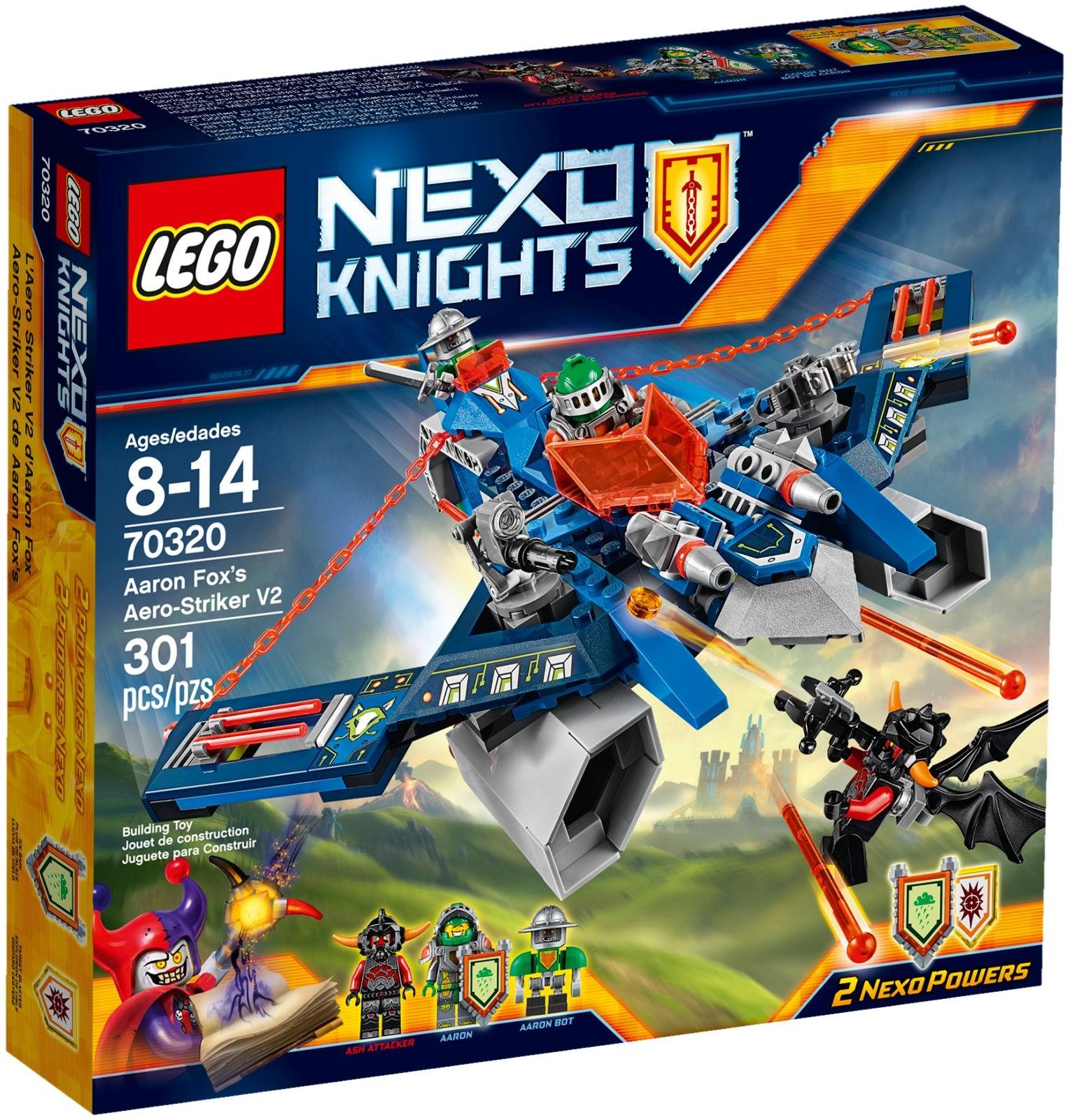 70320 Aaron Foxu0026#39;s Aero-Striker V2 : Brickipedia : Fandom ...
