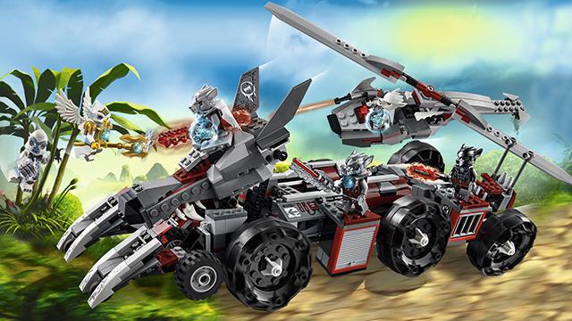 70009 le char de combat loup wiki lego fandom powered - Lego chima saison 2 ...