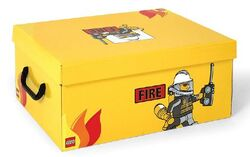 SD536yellow Storage Box XL Fire Yellow