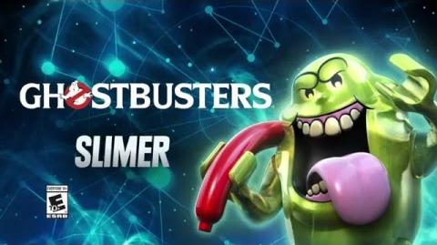 Character Spotlight Slimer LEGO Dimensions