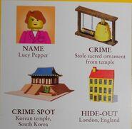 Lucy pepper crime board