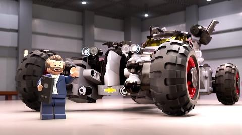 THE LEGO BATMAN MOVIE Promo Clip - The New Batmobile (2017) Animated Comedy Movie HD