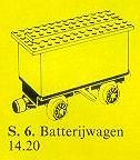 6-4.5V Battery Train Wagon