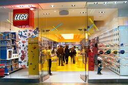 Large Lego store