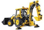 8455 Backhoe rear