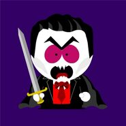 Lord Vampyre south park style
