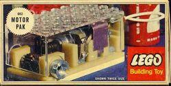 002-4.5V Gears Motor Set