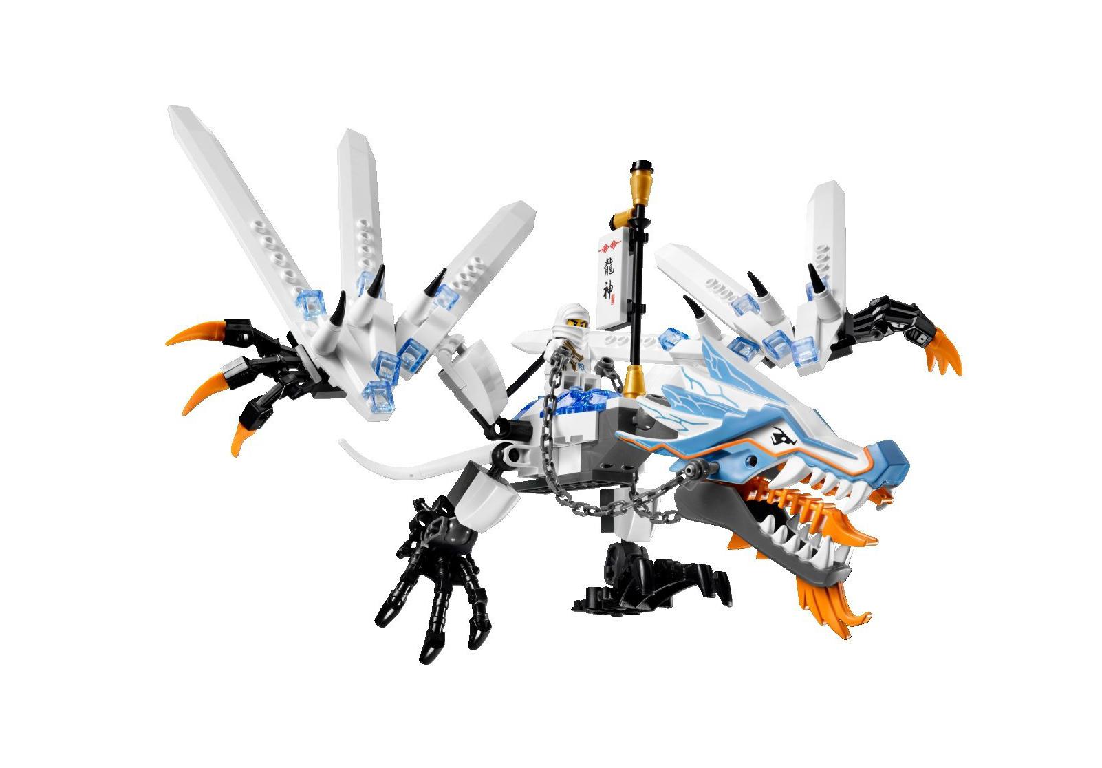 Lego Ninjago Dragon E 2260 detail 3 large