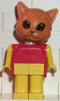 Fabuland Figure Cat 2