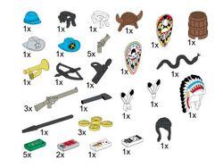 5317 Wild West Accessories